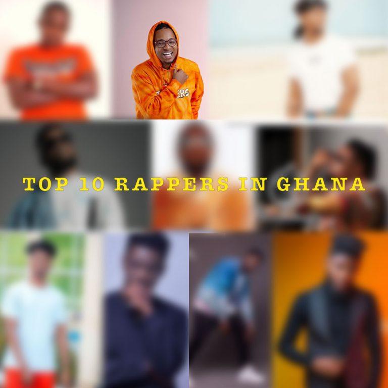Top 10 Rappers in Ghana by KV Bangerz